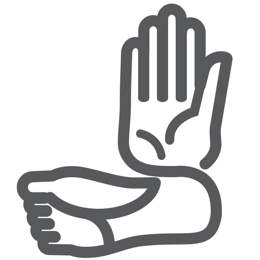 attento.me hand and foot logo